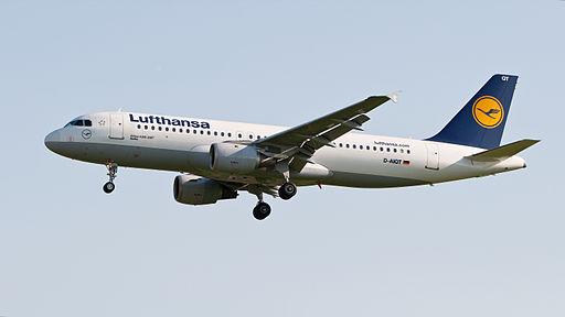 Lufthansa Airbus A320-211