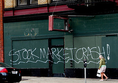stock crash photo