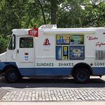 Child ice cream truck photo