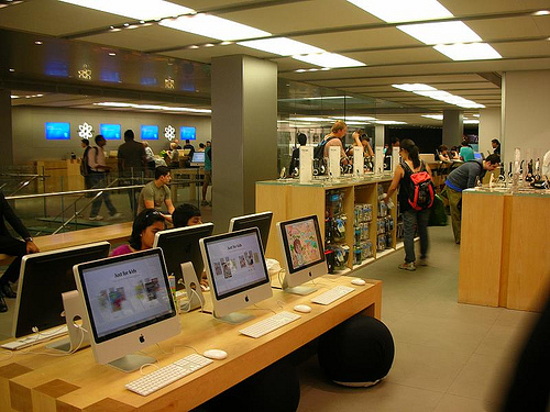 Apple store photo