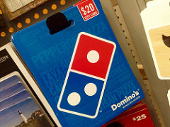dominos pizza photo